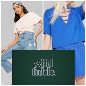 NWTs WILD FABLE • Crop Tops Bundle